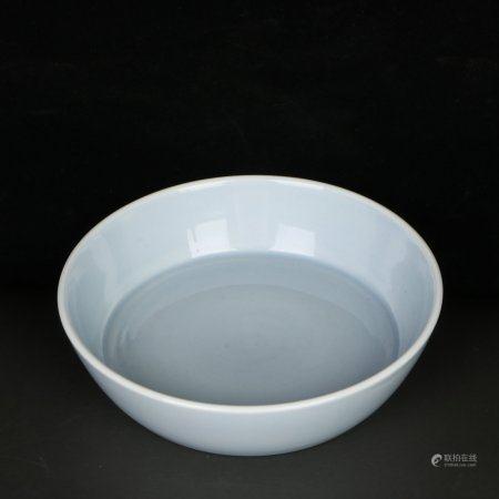 Chinese Celadon Porcelain Water Washer