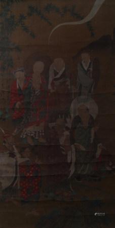 近现代 佚名 八仙图