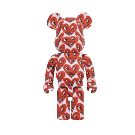 Bearbrick 1000% Keith Haring 凯斯·哈林 6代