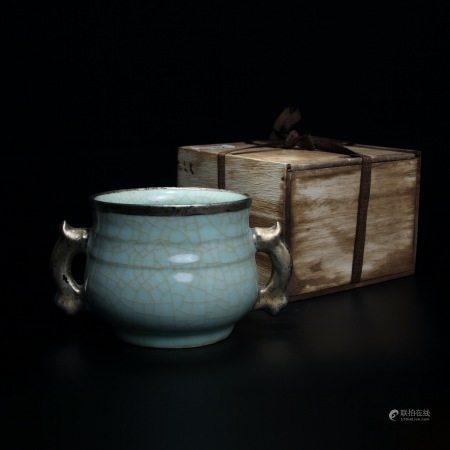 宋 龙泉窑香炉