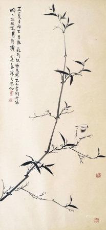 霍春陽 花鳥