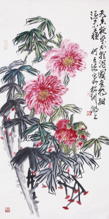 何水法 花卉