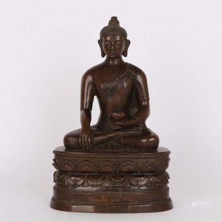 清 铜佛像