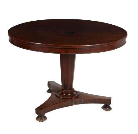 A William IV mahogany centre table
