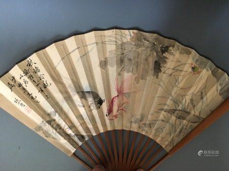A Fan Painting, Zhang Xiong Jin