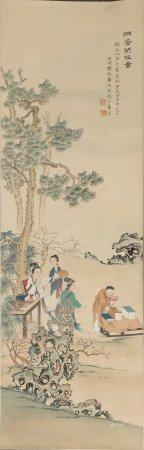 Chinese Painting Of Figure By Huang Jun