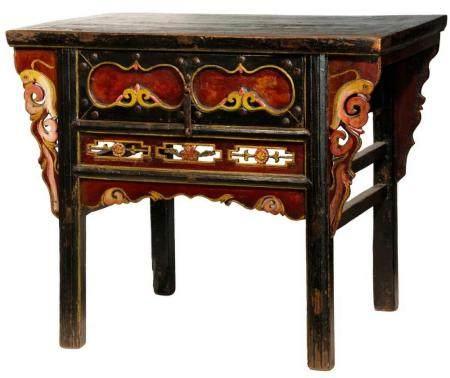 TIBETAN HOME ALTAR TABLE