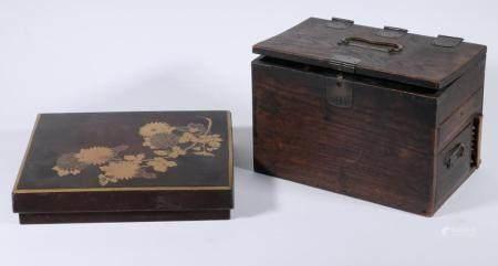 (2) JAPANESE WRITING BOXES