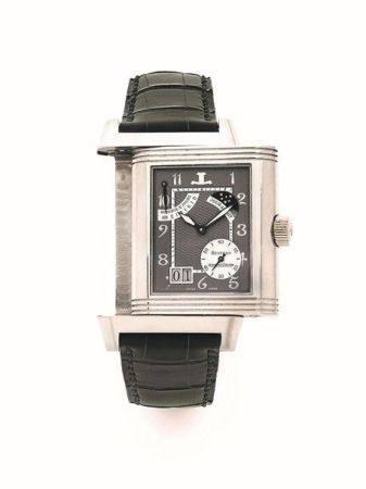 JAEGER LECOULTRE  Reverso Septantième, ref. 240.6.19, n° 164/500 Vers 2001  Montre bracelet rév
