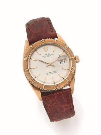 ROLEX  Datejust, ref. 1625, n° 1635490 Vers 1967  Montre bracelet en or jaune 18k (750)  Boîtie