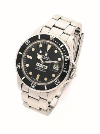 "ROLEX  Submariner ""Comex 6077"", ref. 16800, n° 7276477 Vers 1982  Montre bracelet de plongée en"