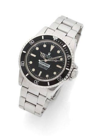 "ROLEX  Submariner ""Comex 822"", ref. 5514 / 5513, n° 5230267 Vers 1978  Montre bracelet de plong"