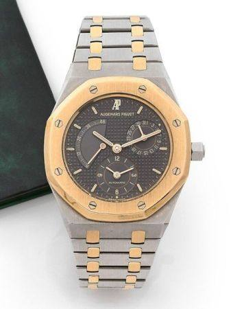 AUDEMARS PIGUET  Royal Oak, ref. 25T303A n° 178 / D-26068 Vers 1994  Montre bracelet en acier e