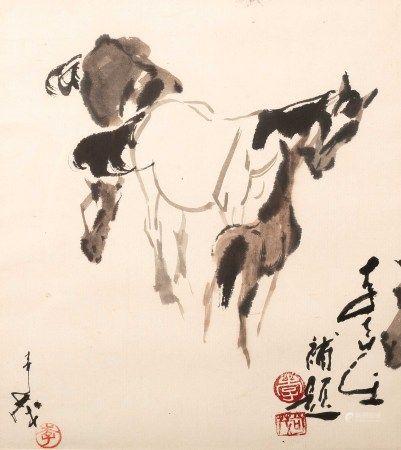 李奇茂(1925~2019) 馬