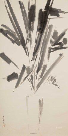 邱秉恆(b.1948) 瓶花