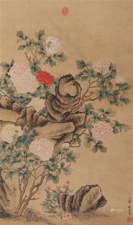 邹一桂《花卉》