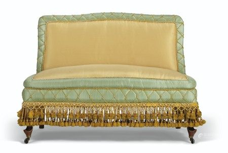 A NORTH EUROPEAN UPHOLSTERED SALON SUITE  MID-19TH CENTURY