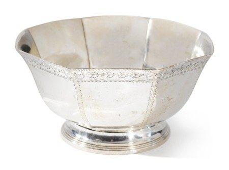 An American Silver Bowl, William Thomson, New York, circa 1800