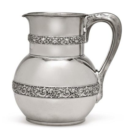 An American Silver Water Pitcher, Tiffany & Co., New York, circa 1878