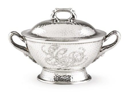 An American Silver Soup Tureen and Cover, Tiffany & Co., New York, circa 1880