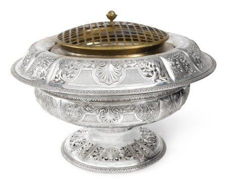 An American Silver Large Centerpiece Bowl, Bailey, Banks and Biddle Co., Philadelphia, circa 1913