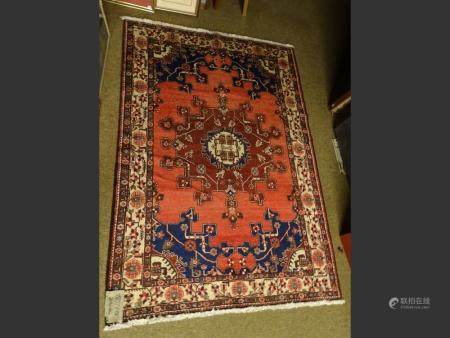 Carpet Persian hand-knotted oriental
