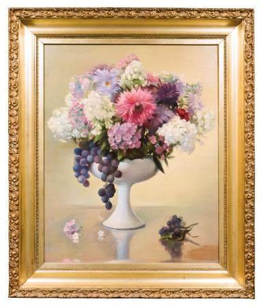 EDWIN DEAKIN, UNTITLED 'STILL LIFE FLOWERS'