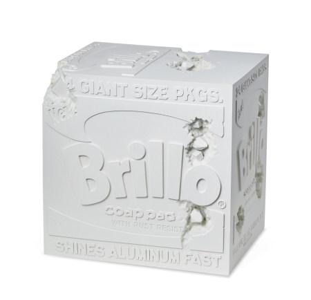 DANIEL ARSHAM  2020年 被侵蚀的布里洛盒子 树脂 氧化铝