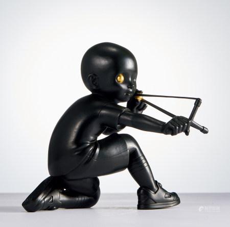 James Jean  2019年 Singshot Black 铜雕
