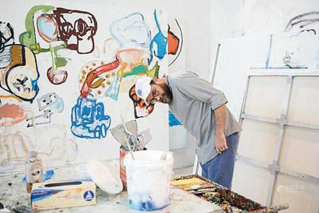 EDDIE MARTINEZ  2016年 Untitled 蜡油笔、彩铅、纸本