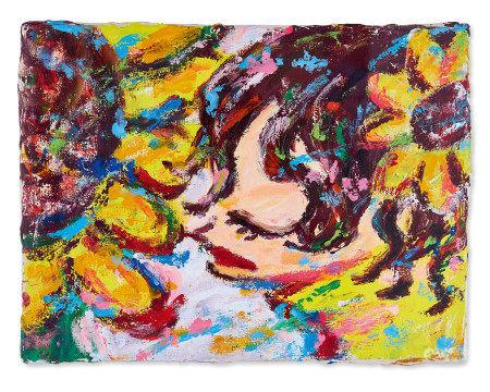 六角彩子  2007年 女孩 布面油画