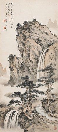 黃君璧  山水