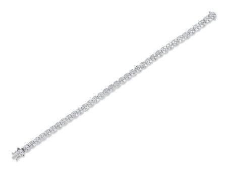 鑽石手鍊鑲18K白金
