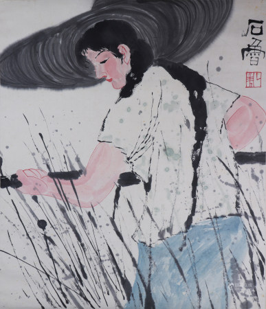 A Chinese figure painting 中国书画 人物