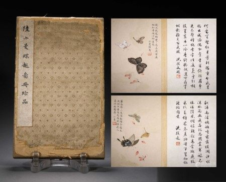A CHINESE VINTAGE BOOKLET