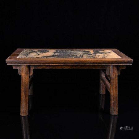 A SMALL HUANG HUA LI TABLE