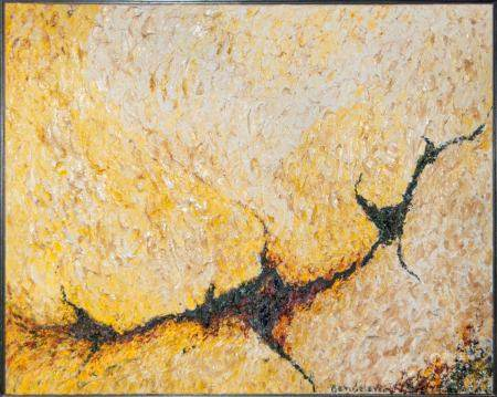 WALL ART /DECOR THICK OIL ON CANVAS, SIGNED