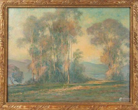 WILLIAM LOUIS OTTE (1871-1957) LANDSCAPE 1921