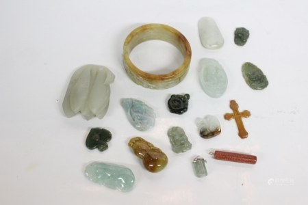 Group of Chinese Jadeite Collections