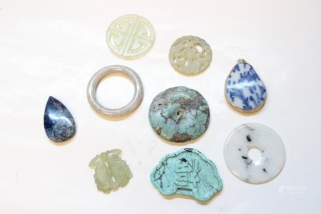 9Pics, Chinese Jade, Turquoise Collections