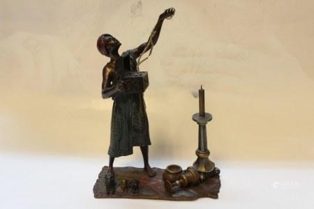 Vienna Bronze Jewel Man