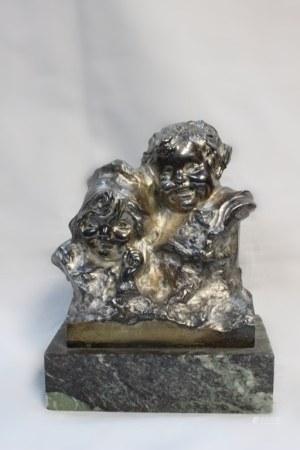 "Bronze of 2 Girls ""Iuan Clara """