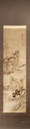 雪窗道人款 紙本 山水 A Chinese  Landscape Painting