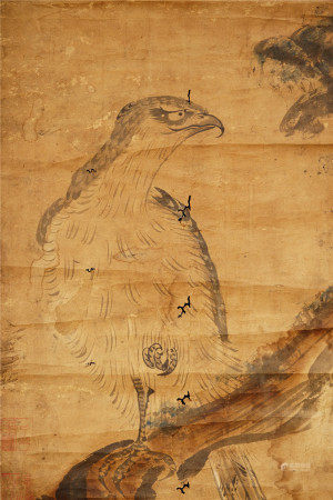 A Chinese Painting  佚名 鷹圖