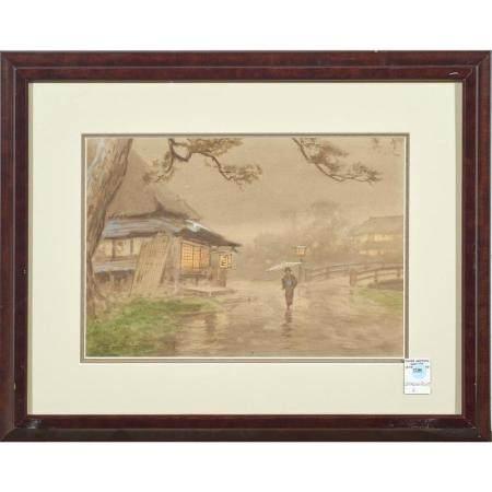 Watercolors, Japanese School (20th century)