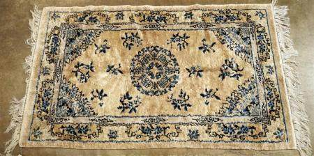 Chinese art silk carpet