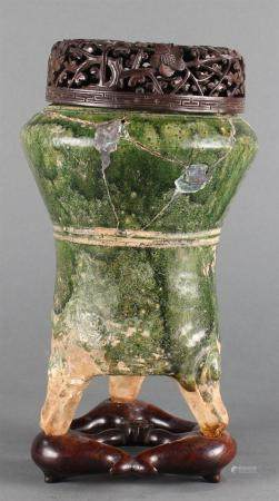 A Chinese mortuary jar
