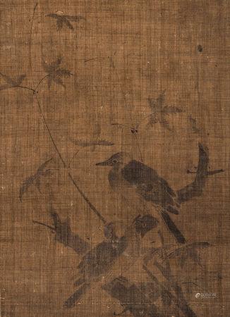佚名(十五世紀) 楓葉雙鳥