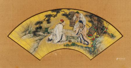 佚名(十八世紀) 對弈