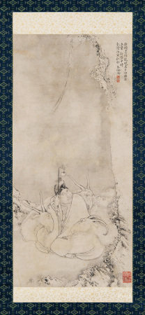 朱倫瀚 蘇武牧羊 1746年作
